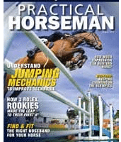 Book review for Inside Your Ride, published in Practical Horseman, August 2013