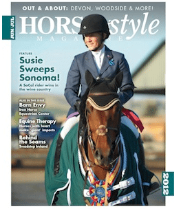 Book review for Inside Your Ride, published in Horse & Style Magazine, June/July 2012