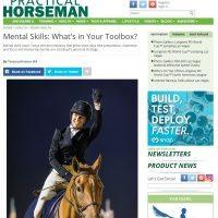 Practical Horseman Column: What's in your Mental Skills Toolbox?