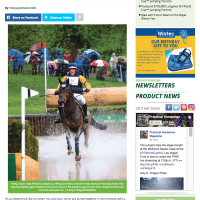 Practical Horseman Column: Tonya with Phillip Dutton